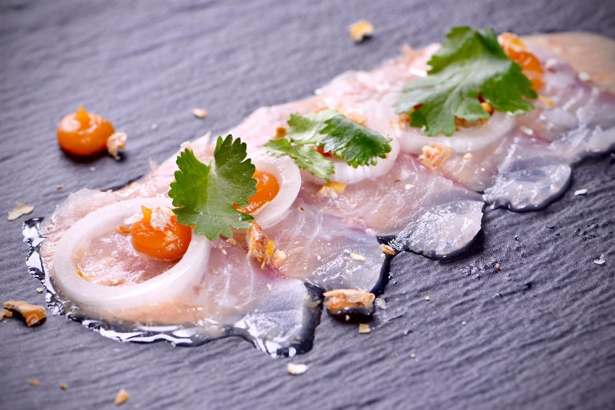 Tiradito de Lubina y Rocoto - El Gourmet