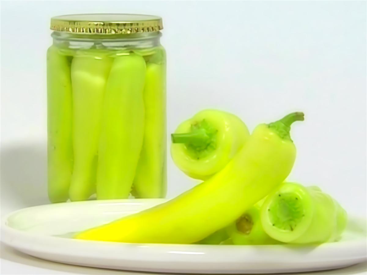 Receta De Encurtidos Ajíes En Vinagre Pickles Surtidos Cebollas En
